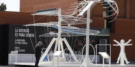 Mira cómo habrían sido el helicóptero y el ala delta de Leonardo da Vinci