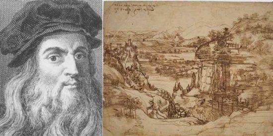 Esta es la obra que demuestra que Leonardo Da Vinci era ambidiestro