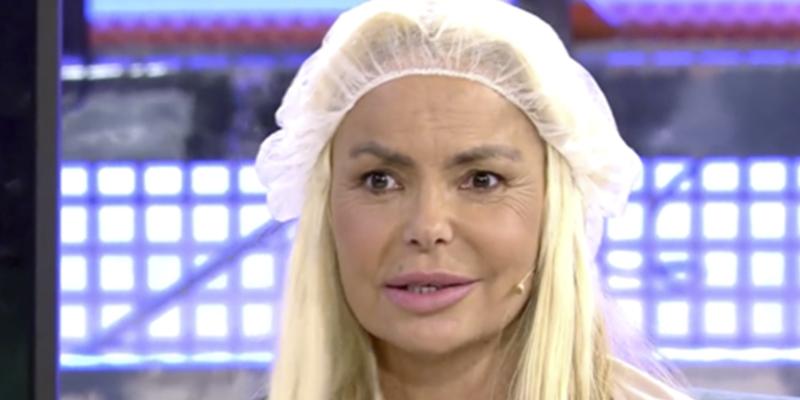 Leticia Sabater se deja ver en 'Sábado Deluxe' tras su operación para parecerse a Madonna