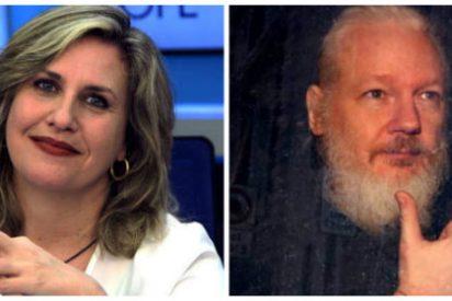"""Cristina López Schlichting recuerda quiénes apoyan a Assange para concluir que es un """"pájaro de cuidado"""""""