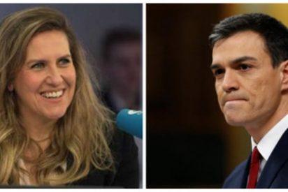 Cristina López Schlichting cala a base de bien a Pedro Sánchez y pone negro sobre blanco su peor pesadilla