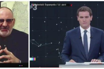 """La vomitona de Losada en la golpista TV3 sobre Rivera: """"Los políticos deben alejarse del alcohol, las drogas y asesores"""""""