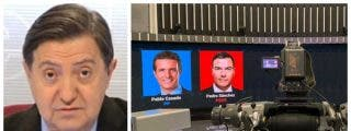 """Losantos estalla contra los 'giliprogres' que celebran el veto a VOX en los debates: """"TVE pone en la picota a los disidentes"""""""