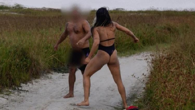 Luchadora de MMA da una paliza de espanto a un hincha que se masturbó a su lado