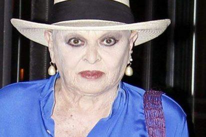 Lucía Bosé tiene la caradura de decir que la tata le devolvió el cuadro porque Picasso la había pintado fea