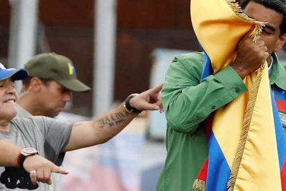 La Federación Mexicana de Fútbol plantea sancionar a Maradona por dedicar al dictador Maduro una victoria