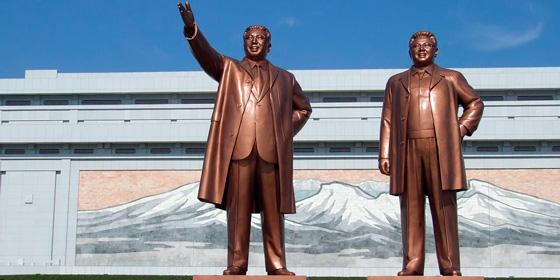 Qué ver en Pyongyang: Gran Monumento de la colina Mansu