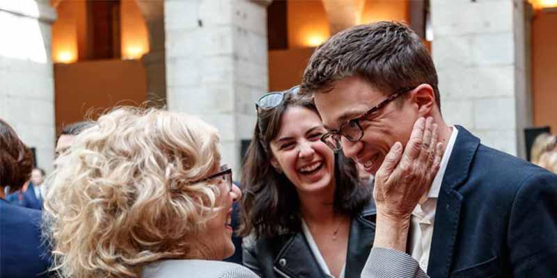 La Junta Electoral echa a Carmena y Errejón de los debates por montar un nuevo partido