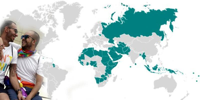 El terrible mapa de los países que castigan con la muerte las relaciones homosexuales