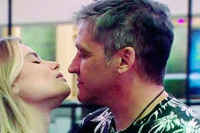 El apasionado beso con lengua de María Lapiedra a Gustavo González en la casa de Guadalix