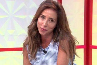 María Patiño hace gala de mal compañerismo y acusa de su metedura de pata a un reportero de 'Socialité'