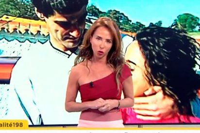 La insólita petición que hace Maria Patiño a los famosos que entrevistan en 'Socialité'