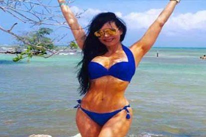 La sensual Maribel Guardia evita que hombre se 'suicide' cumpliendo su fantasía