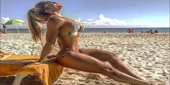 La posición y el cuerpazo de Maripily Rivera que no respeta ni la semana santa