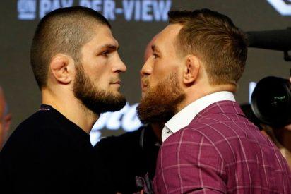 Escándalo en la UFC: McGregor ataca a la esposa de Khabib y el ruso lo acusa de
