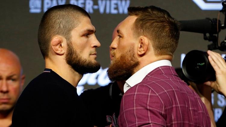 """Escándalo en la UFC: McGregor ataca a la esposa de Khabib y el ruso lo acusa de """"violador"""""""