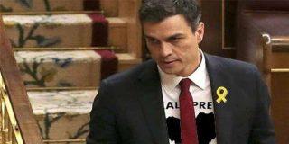 El golpismo apuesta por Sánchez: JpC y ERC apoyarán al del PSOE como presidente al verlo 'el mal menor'