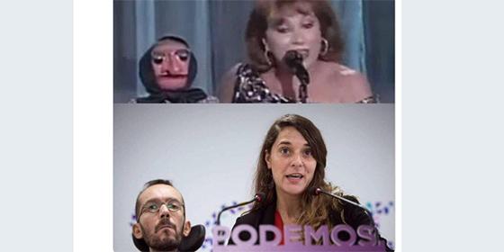 'Doña Rogelia' Echenique traga bilis con el glorioso meme que le han clavado en Twitter