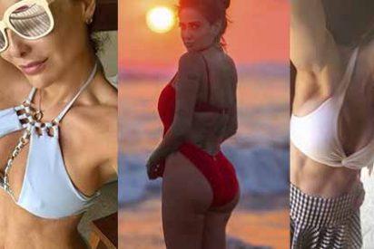 Curvas, sol y muchos bikinis: así disfrutaron las celebridades mexicanas de esta Semana Santa