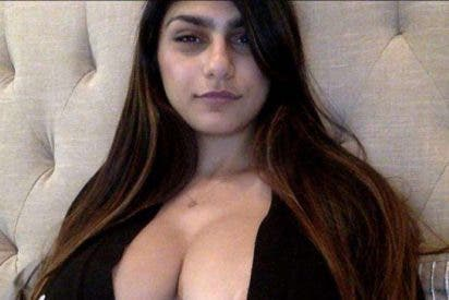 Fotos: Mia Khalifa muestra sus atributos con una sexy lencería