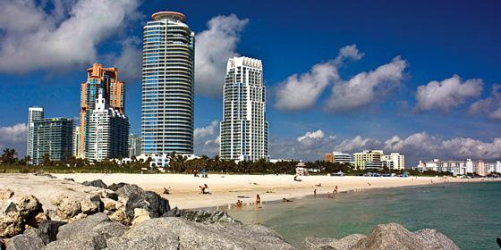 Miami, Florida/ South Beach: Atractivo de Día y de Noche
