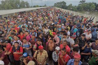 Caravana de migrantes: la avalancha de indocumentados de todo el mundo que está llegando a México