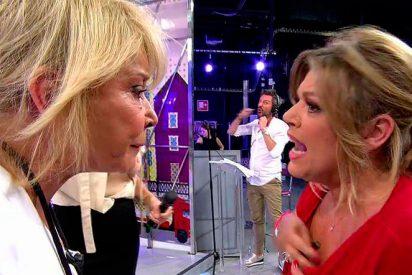 Terelu defiende el comportamiento de su hermana y recibe un monumental zasca de Mila