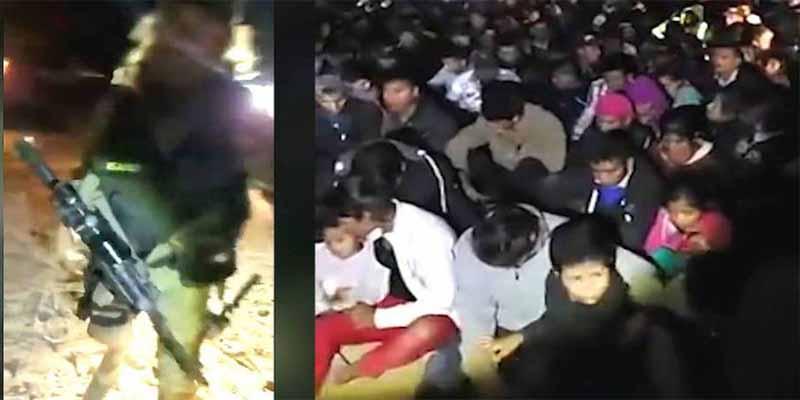 Milicia armada y 'racista' detiene a 200 hispanos indocumentados y se los entrega a 'La Migra'