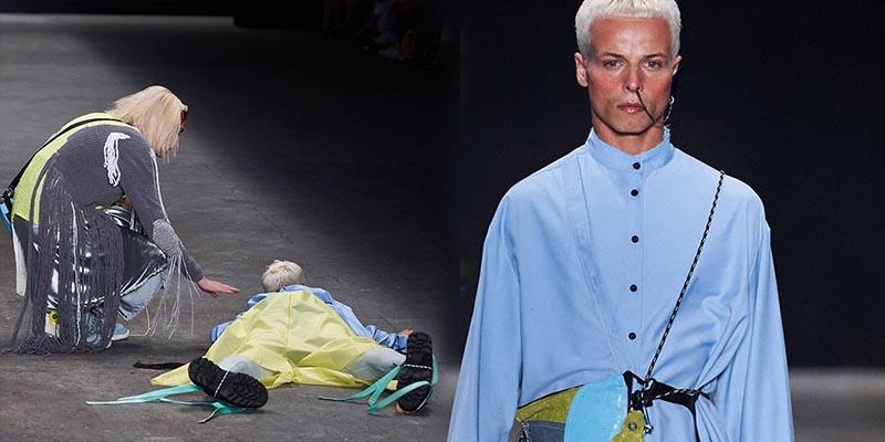 (VÍDEO) Este modelo muere en la pasarela durante la semana de la moda en Brasil