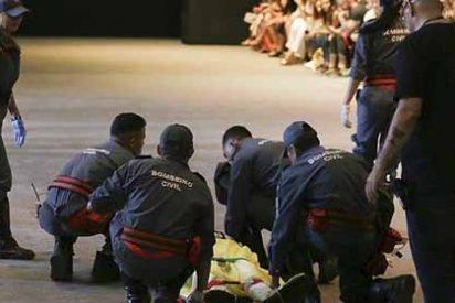 Lás imágenes de la muerte: Cómo falleció el modelo durante la semana de la moda en Brasil