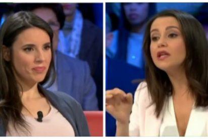 'Zasca' bíblico de Inés Arrimadas a Irene Montero tras su patoso alegato en defensa del golpista Junqueras