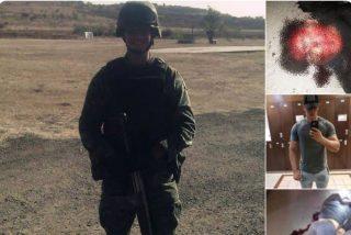 Fotos: Narcos descubren a un militar encubierto y lo ejecutan sin piedad
