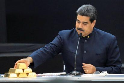 El régimen de Maduro desafia las sanciones internacionales: Saquea otros 40 millones de dólares de las reservas de oro