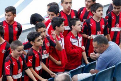 Estos niños dan ejemplo en medio de un partido que cita a israelíes junto a palestinos