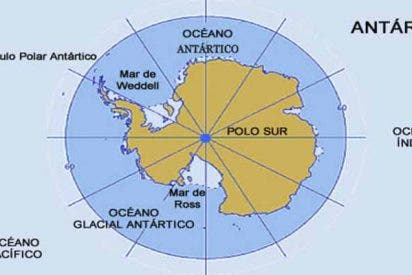 Brunt: Un gran iceberg está formándose en la Antártida con una base dentro