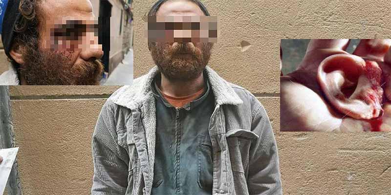 Atrapan al marroquí que violó salvajemente a una mujer y le arrancó una oreja de un mordisco