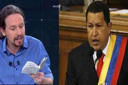 La estrategia de Pablo Iglesias copiada de Hugo Chávez que acojona a los venezolanos que emigraron a España