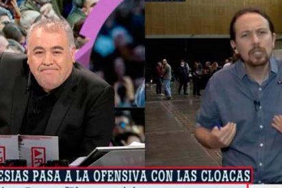 Pablo Iglesias sigue su campaña contra los medios atacando ahora a García Ferreras