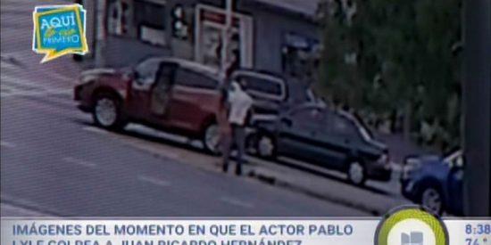 Vídeo: El momento exacto cuando el artista mexicano Pablo Lyle golpea al hombre que murió días después en Miami