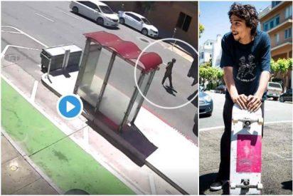 """Arrollado por un camión: Así murió uno de los skaters """"más intrepidos del mundo"""""""