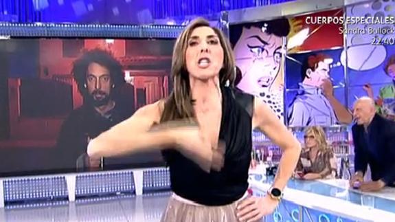 Paz Padilla cae a lo más bajo atacando a Antena 3 en directo