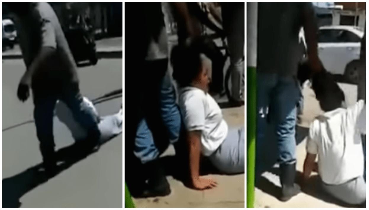 Video: Arrastra del cabello a su hija por no asistir a la escuela