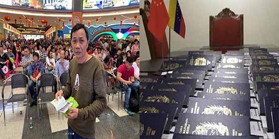 ¿Traición a la patria?: Régimen chavista entrega pasaportes venezolanos a nacionales chinos