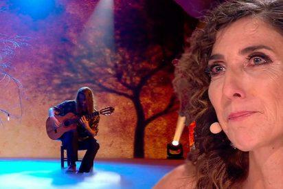 Paz Padilla se rompe con la fragilidad de Rubén Jordán en 'Got Talent'