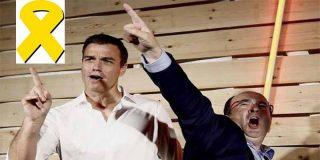 El 'bailón' Iceta desmonta al levantisco Sánchez y su farsa de aplicar el 155 en Cataluña desmarcándose de la moción de censura a Quim Torra
