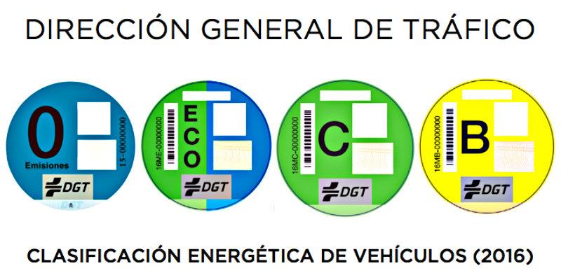 La pegatina de la DGT es obligatoria en Madrid desde el próximo 24 de abril de 2019