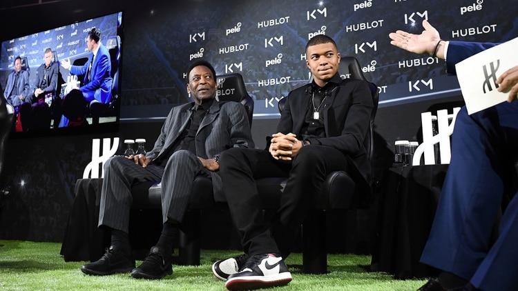 Pelé termina en el hospital tras participar de un evento publicitario con Mbappé