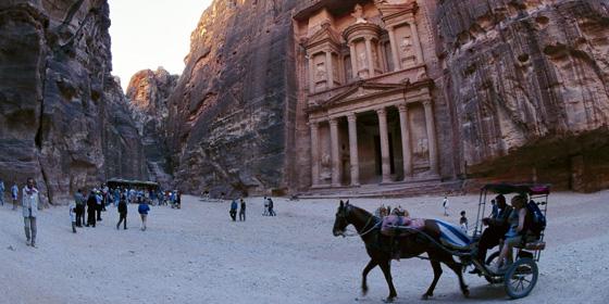 Petra, una de las grandes maravillas del mundo antiguo