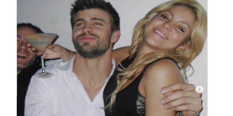 La foto de Piqué con Shakira de fiesta loca, de la que todos hablan por la cara del futbolista