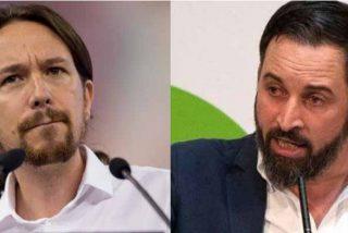 Abascal se la devuelve a Podemos: propone una gran cacerolada contra Pablo Iglesias
